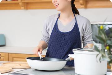 キッチン周りの利便性がアップ!