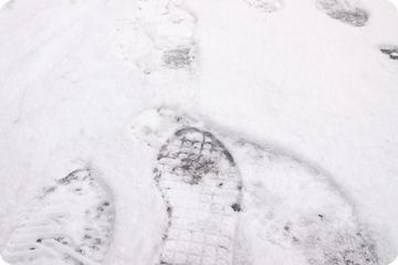 冬場の足元も安全に。