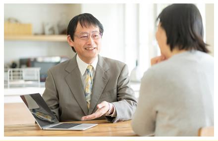 専門のスタッフが最適なアドバイスを行っております。