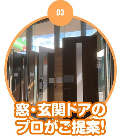 窓・玄関ドアのプロがご提案!